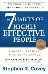 every aspiring Entrepreneur should read The 7 Habits of Highly Effective People