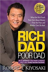 Rich Dad Poor Dad entrepreneur books